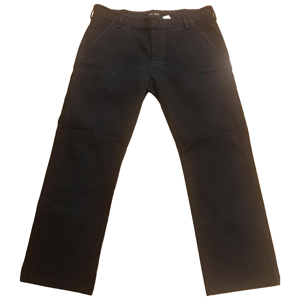 Armani Jeans \N Blue Denim - Jeans Trousers for Men 40 UK - US