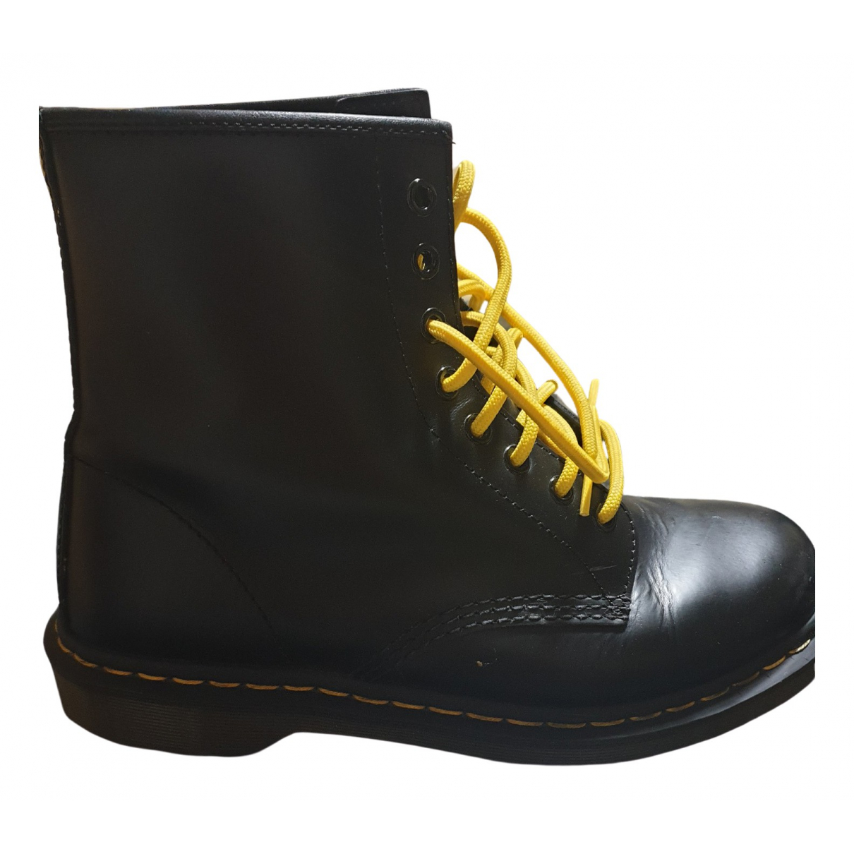 Dr. Martens 1460 Pascal (8 eye) Black Leather Boots for Men 42 EU