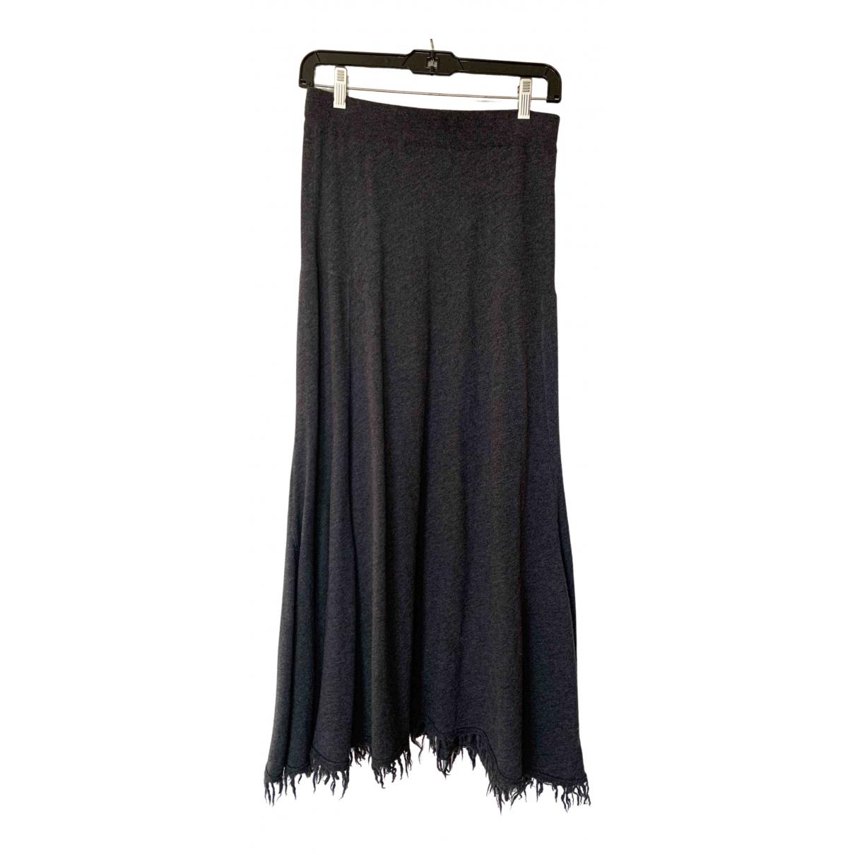 Jil Sander - Jupe   pour femme en cachemire - gris