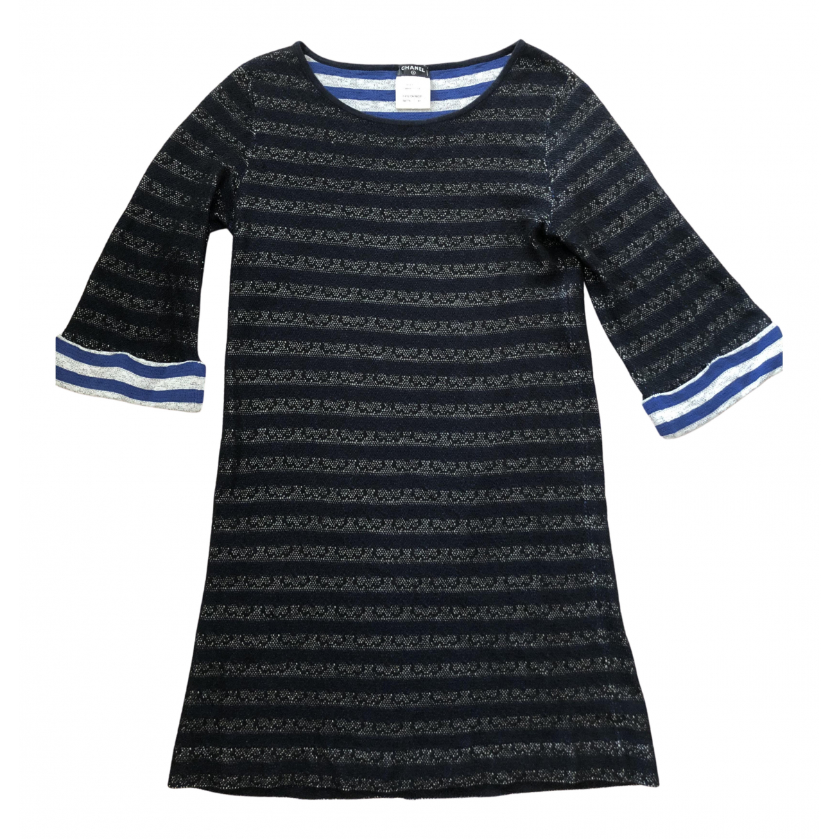 Chanel \N Kleid in  Bunt Seide