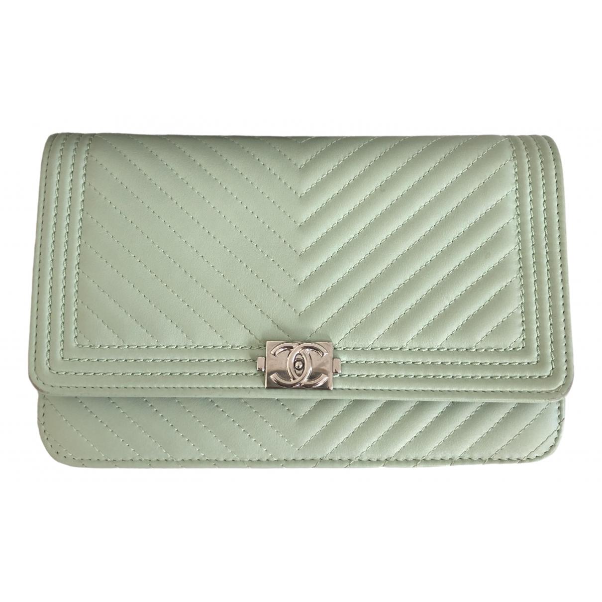 Chanel Wallet on Chain Handtasche in Leder