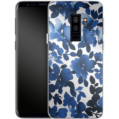 Samsung Galaxy S9 Plus Silikon Handyhuelle - Sophia Blue Floral von Amy Sia