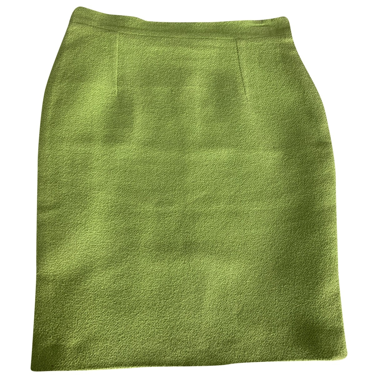 - Jupe Oversize pour femme en laine - vert