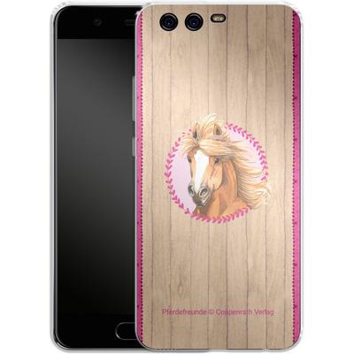 Huawei P10 Silikon Handyhuelle - Pferdefreunde Herzen von Pferdefreunde