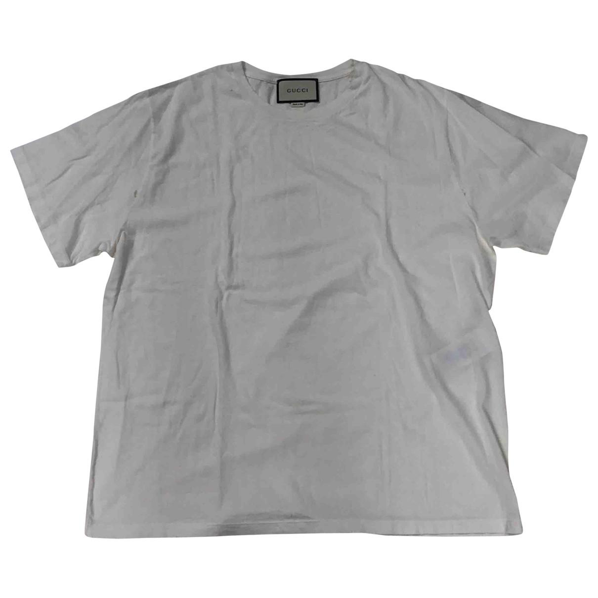Gucci \N White Cotton T-shirts for Men M International