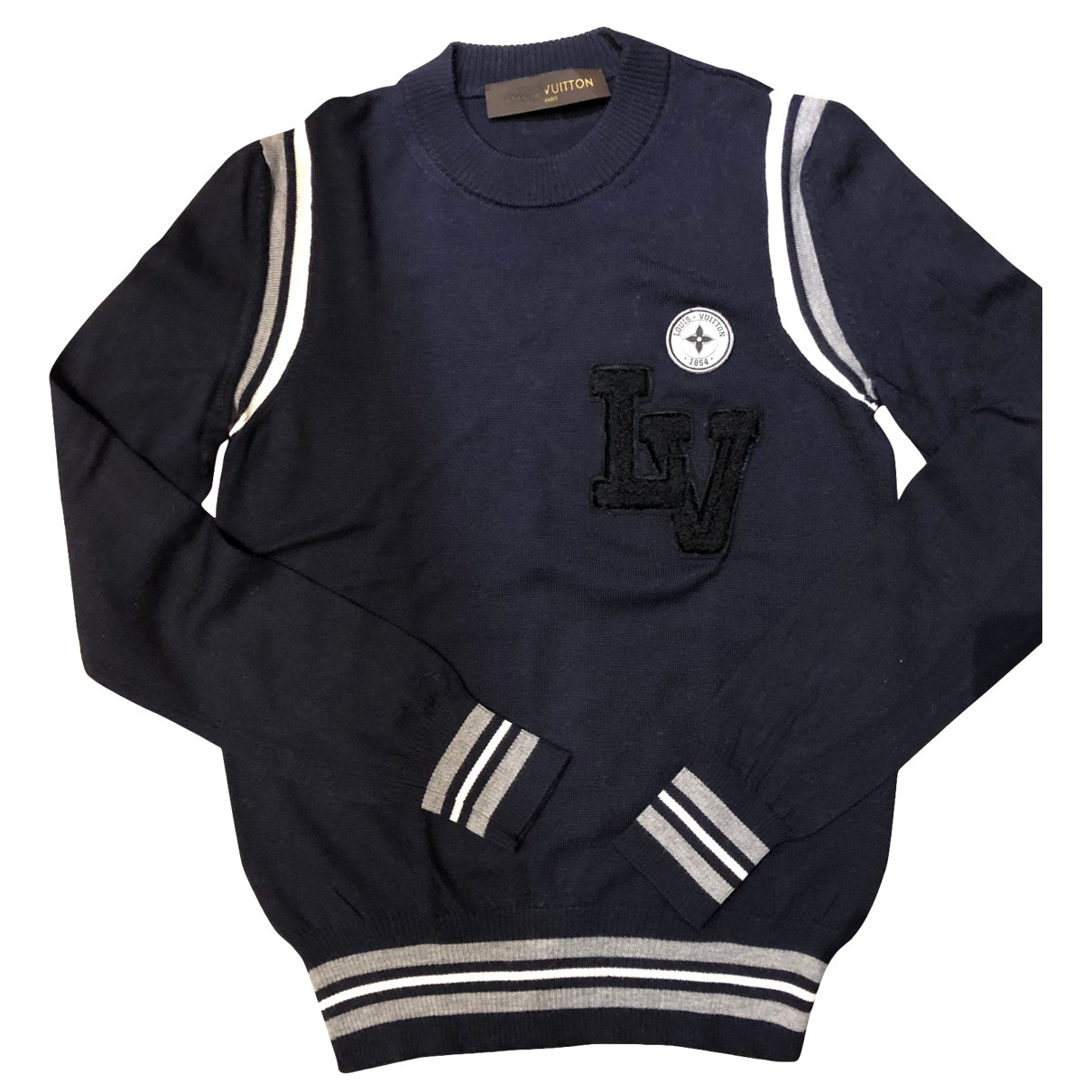 Louis Vuitton \N Navy Wool Knitwear for Women XXS International