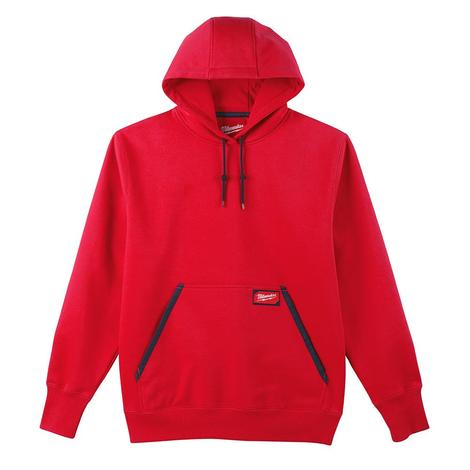 Milwaukee Heavy Duty Pullover Hoodie - Red 3X