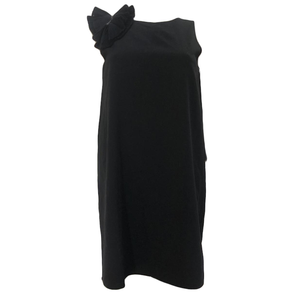 Les Petites \N Kleid in  Schwarz Polyester