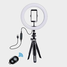 Bluetooth Selfie Ring Light With Tripod Stand & Phone Holder