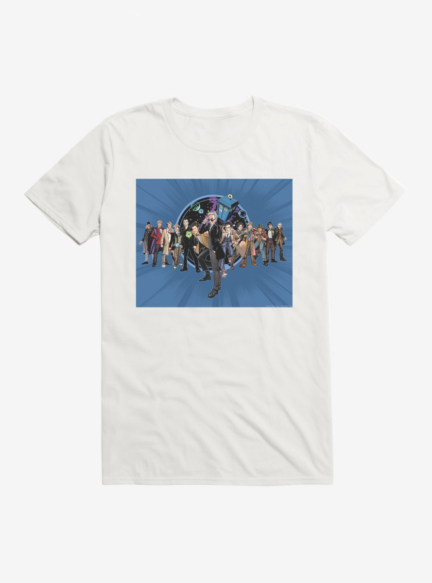 Doctor Who Twelfth Doctor Incarnations T-Shirt