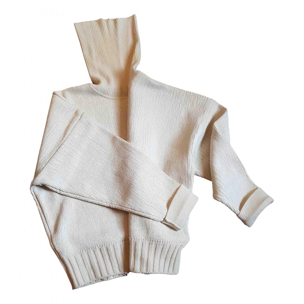 Pinko \N White Wool Knitwear for Women 40 IT