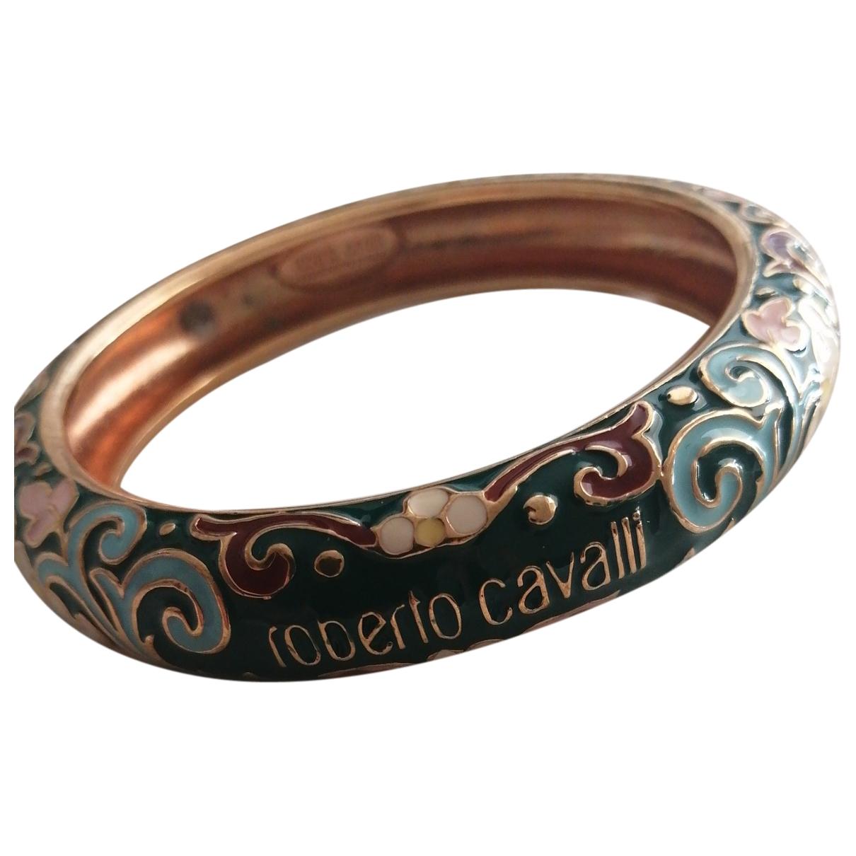Roberto Cavalli \N Armband in  Gold Metall
