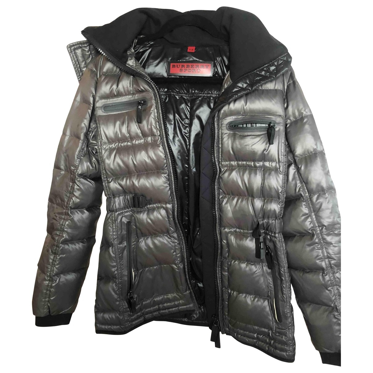 Burberry - Manteau   pour femme en coton - noir