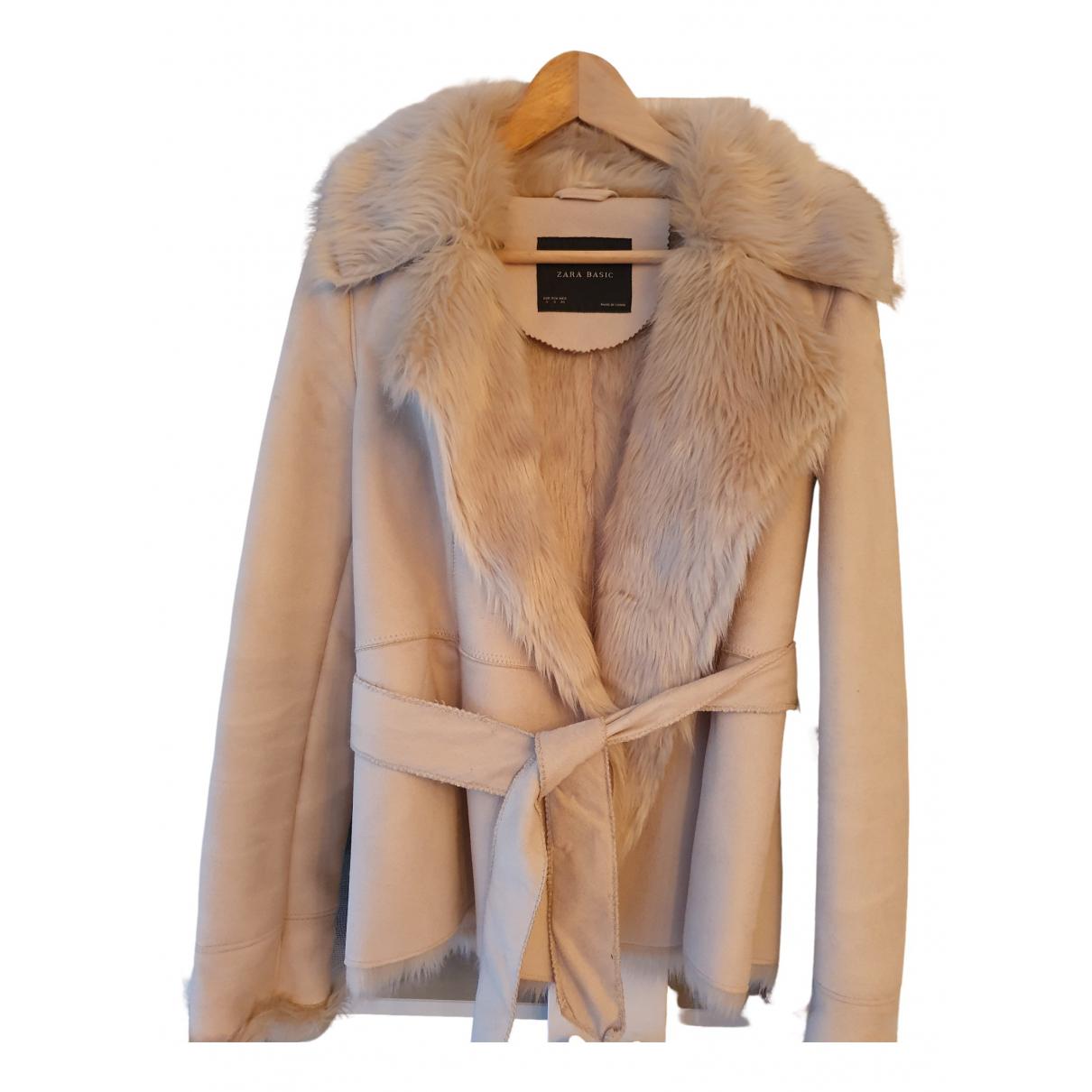 Zara \N Beige coat for Women S International