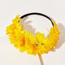 Kleinkind Maedchen Haar Accessory mit Blumen Dekor