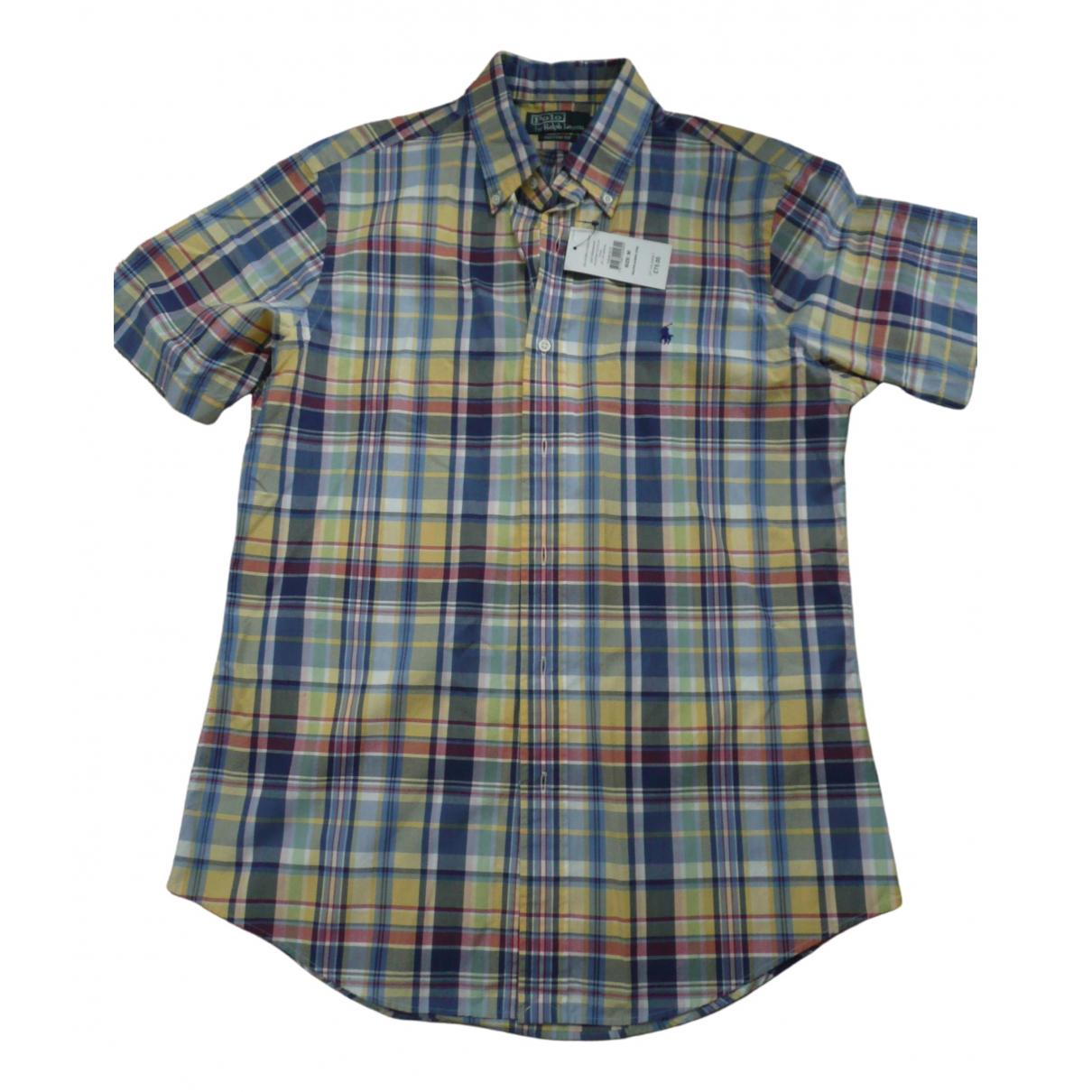Polo Ralph Lauren \N Multicolour Cotton Shirts for Men M International