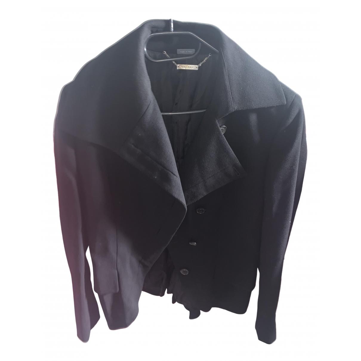 Alexander Mcqueen \N Black Cotton jacket for Women L International