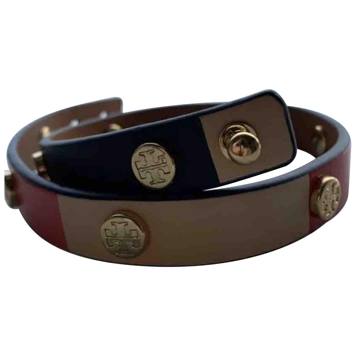 Tory Burch \N Armband in  Marine Leder