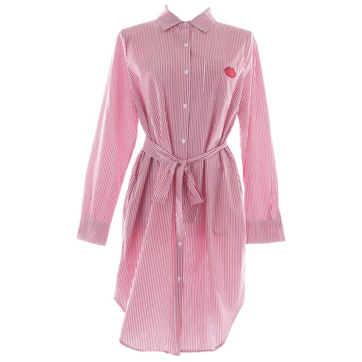 Essentiel Antwerp - Robe   pour femme en coton - rouge