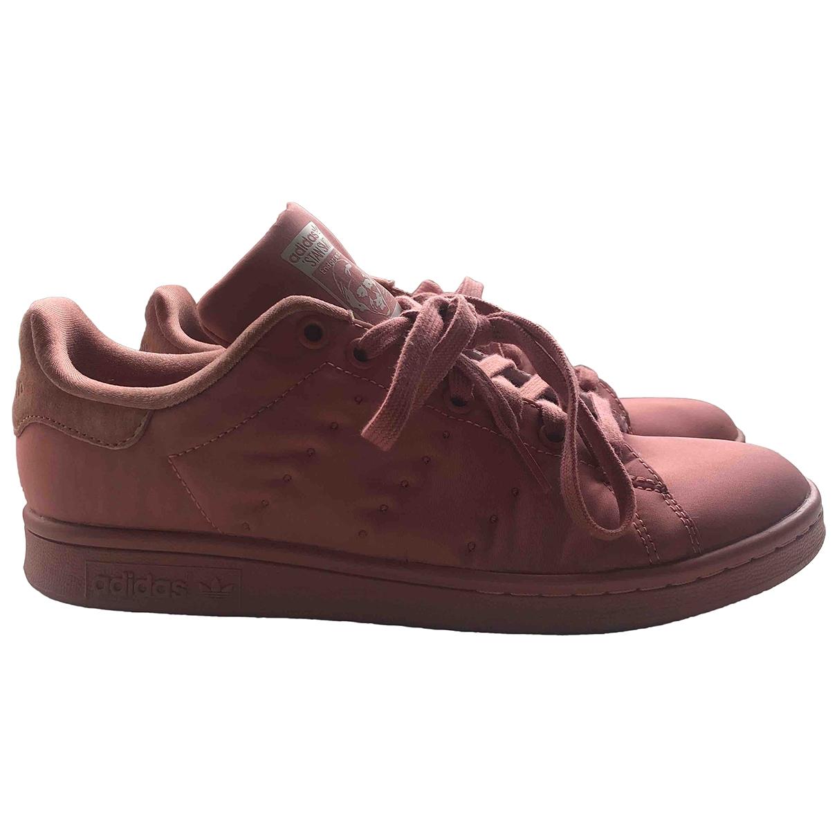Adidas - Baskets Stan Smith pour femme en toile - rose