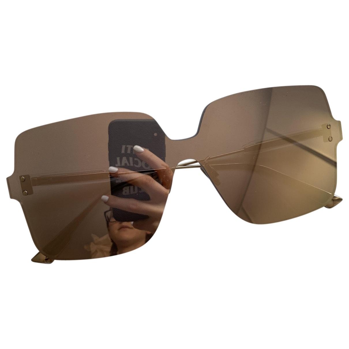 Dior Color Quake 2 Gold Metal Sunglasses for Women \N