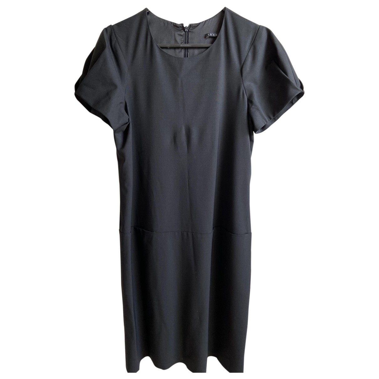 Theory \N Black Cotton dress for Women 8 US