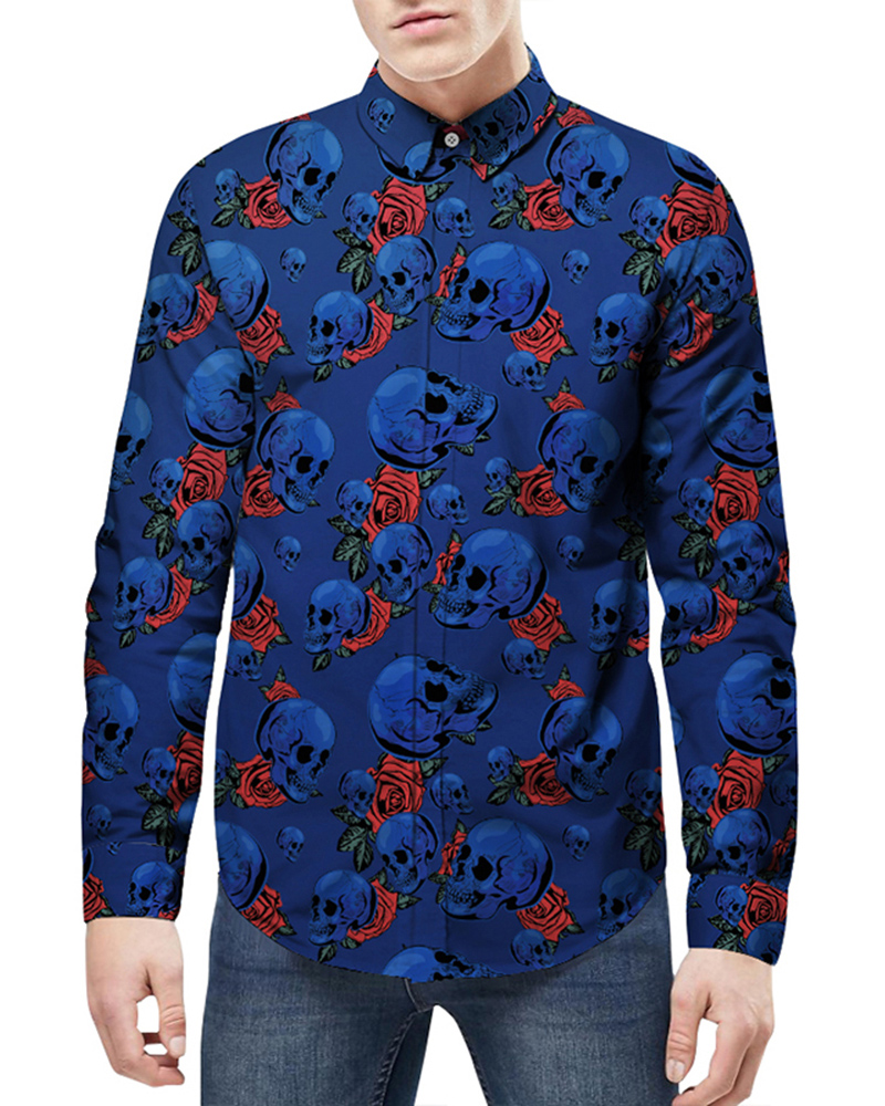 Vibrant Color Cool Design Printed Graphic 3D Painted Shirt
