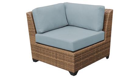 TKC025b-CS-SPA Corner Chair - Wheat and Spa