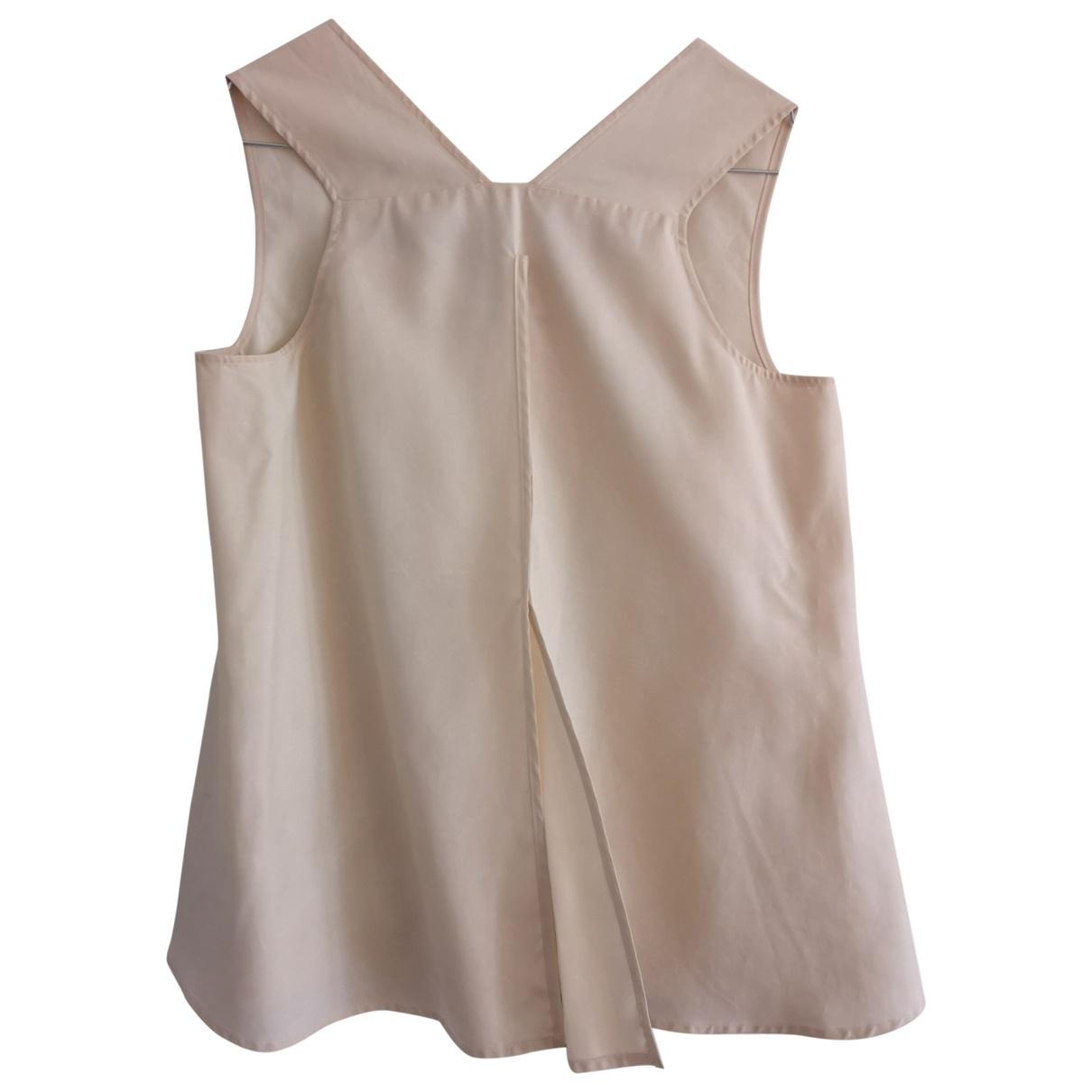 Jil Sander \N White Silk  top for Women 34 FR