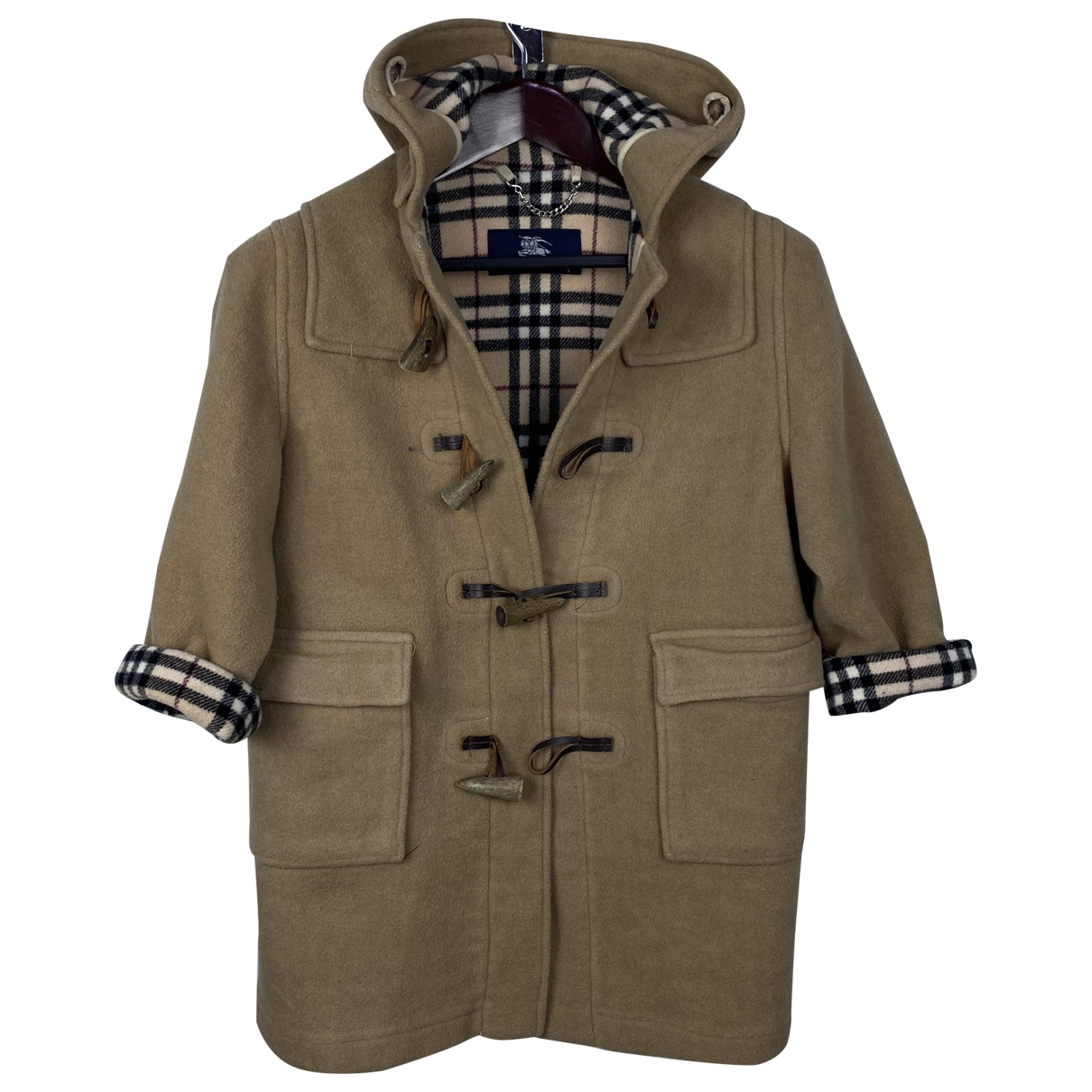 Burberry \N Camel Wool jacket & coat for Kids 8 years - up to 128cm FR