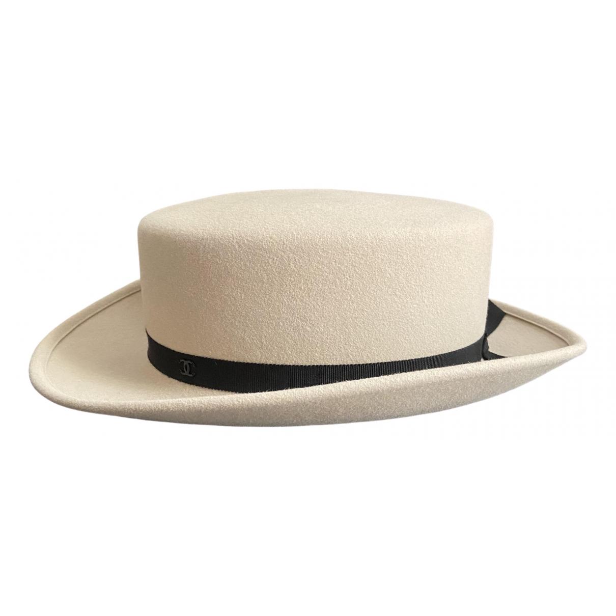 Chanel \N Beige Wool hat for Women M International