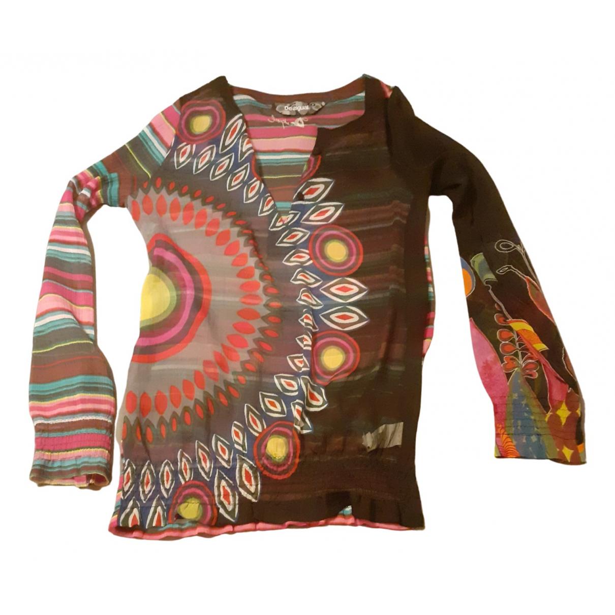 Desigual - Top   pour femme - multicolore