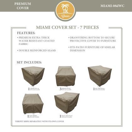 Miami MIAMI-08dWC MIAMI-08d Protective Cover Set in