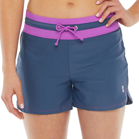 Free Country Swim Shorts Swimsuit Bottom, Xx-large , Gray