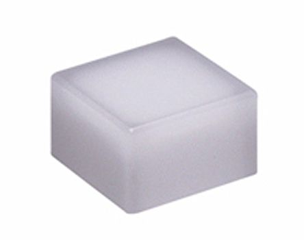 NKK Switches White Tactile Switch Cap for use with JB Series Tactile Switches (5)