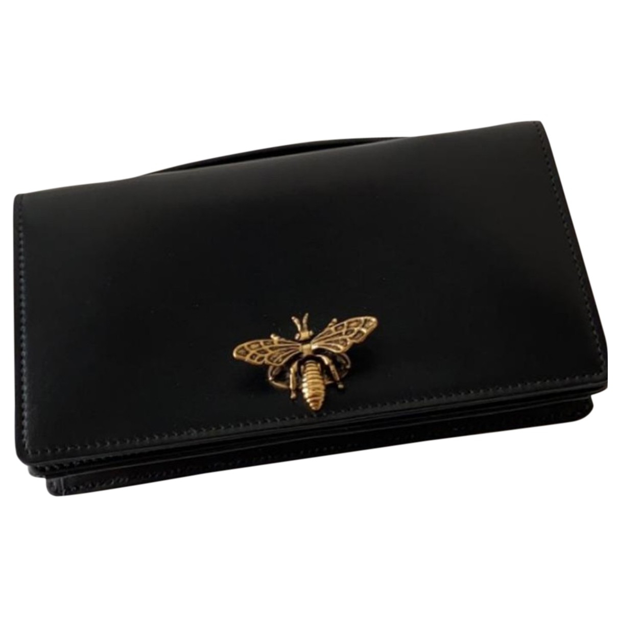 Dior D-Bee Black Leather Clutch bag for Women N