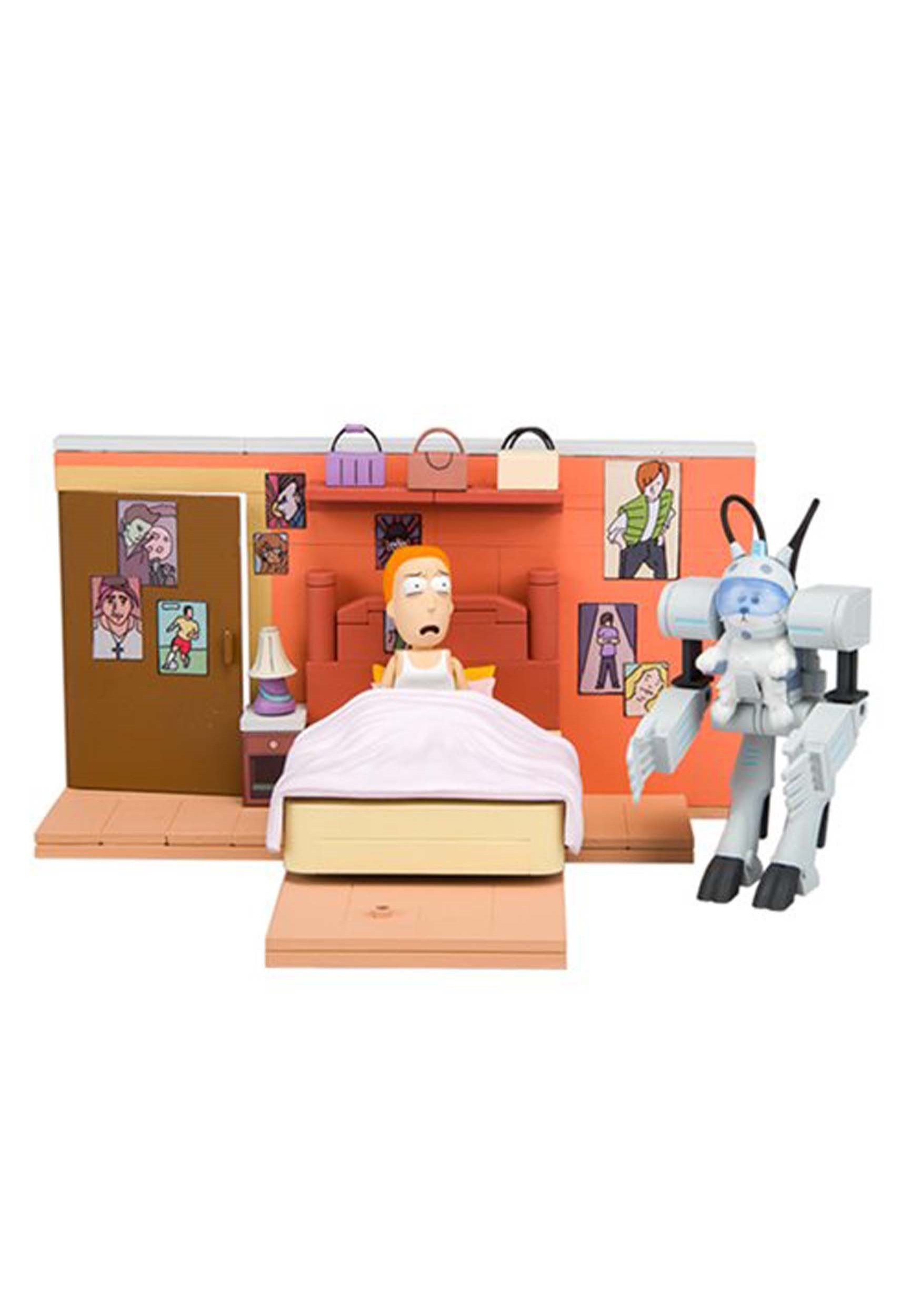 Rick and Morty You Shall Now Call Me Snowball Construction Set