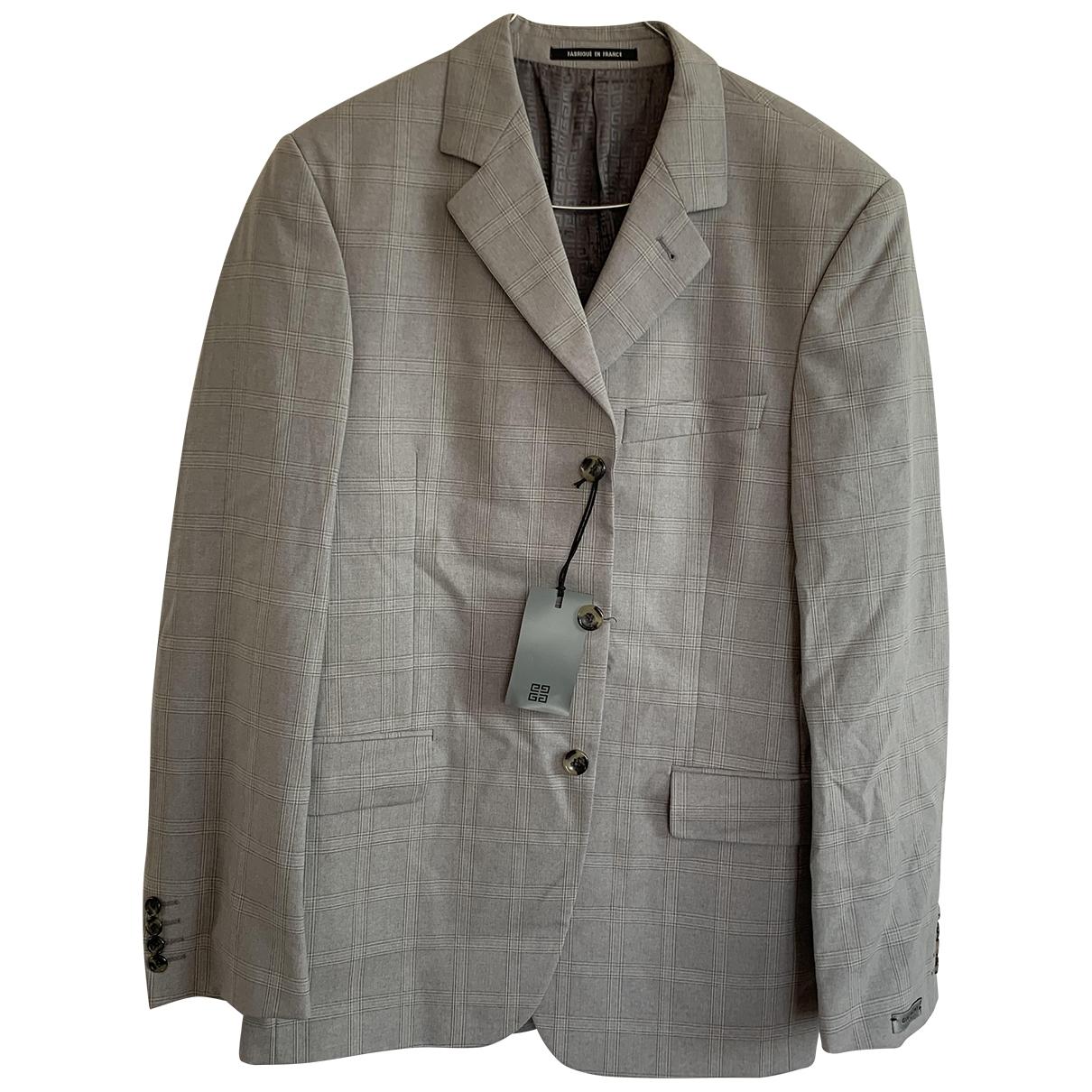 Givenchy \N Grey Wool jacket  for Men 50 FR