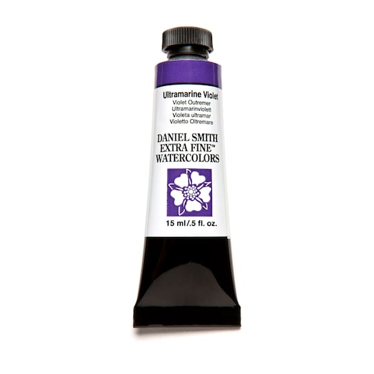 Daniel Smith Extra Fine™ Watercolor, 15 Ml Paint in Ultramarine Violet | Michaels®