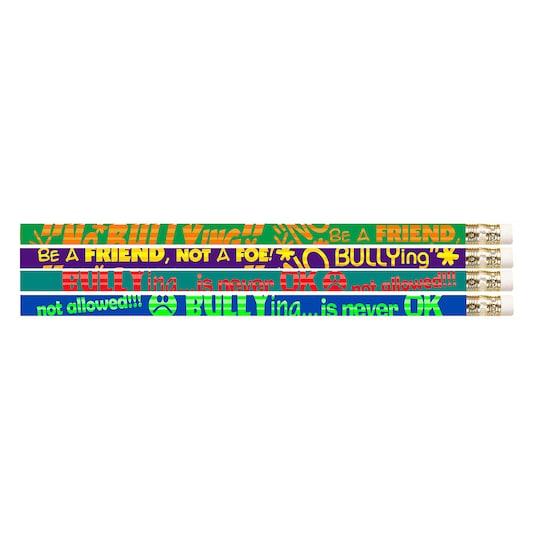 No Bullying Motivational Pencils, 12 Dozen By Musgrave Pencil | Michaels®