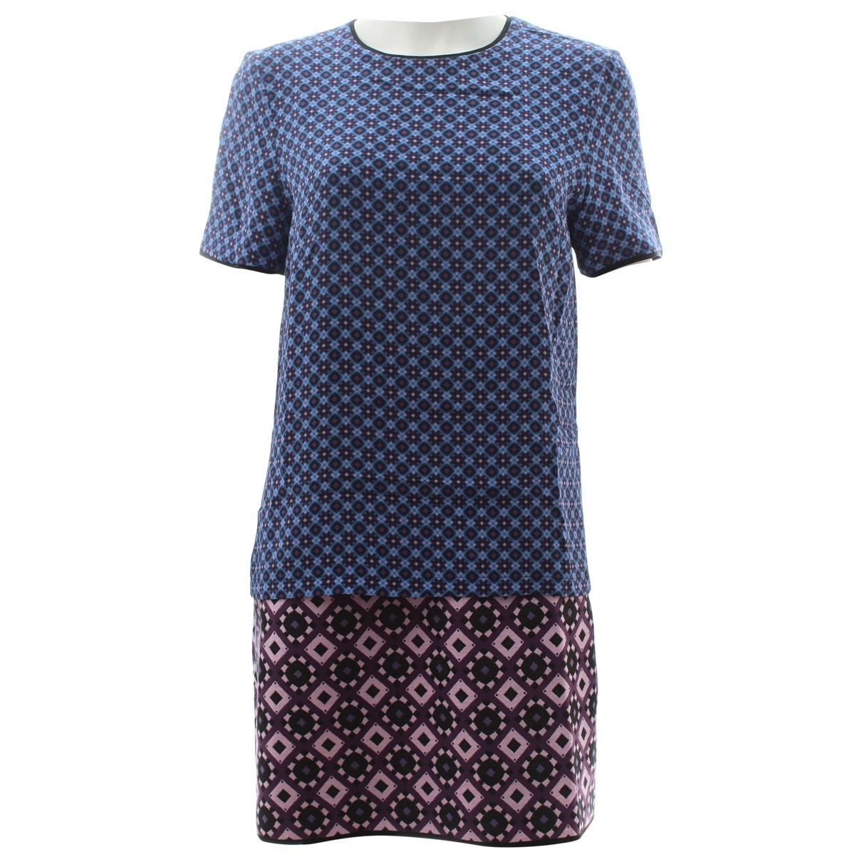 Mini vestido de Seda Victoria, Victoria Beckham