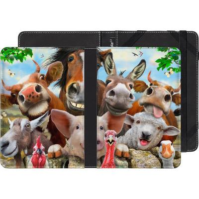 PocketBook Touch 622 eBook Reader Huelle - Farm Selfie von Howard Robinson