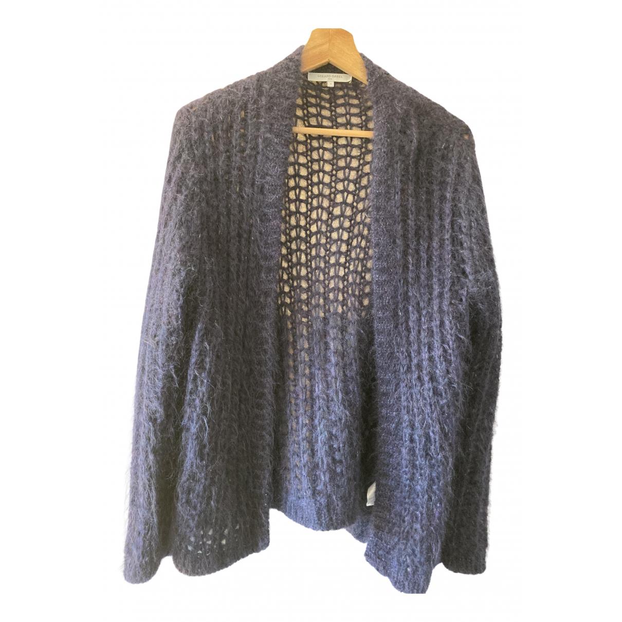 Gerard Darel - Pull   pour femme en laine - bleu