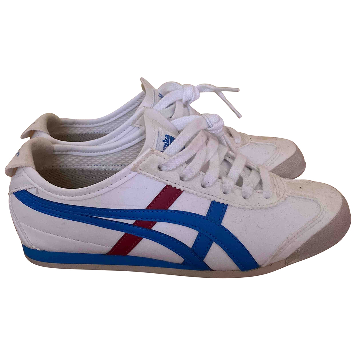 Onitsuka Tiger \N White Leather Trainers for Women 35 EU