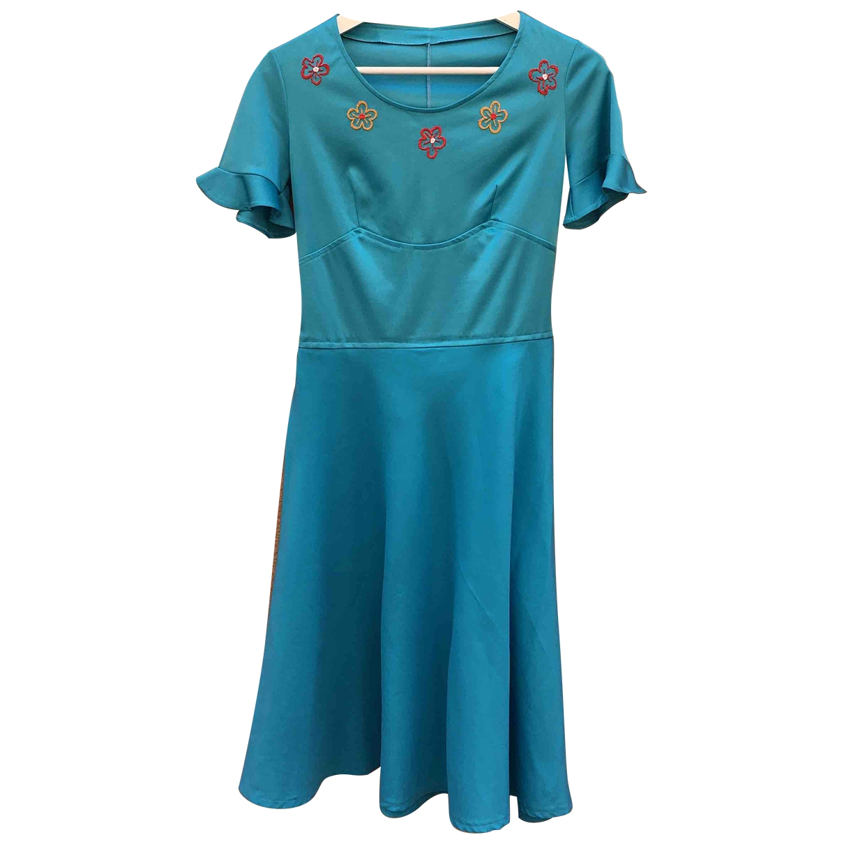 - Robe Hippie Chic pour femme - turquoise