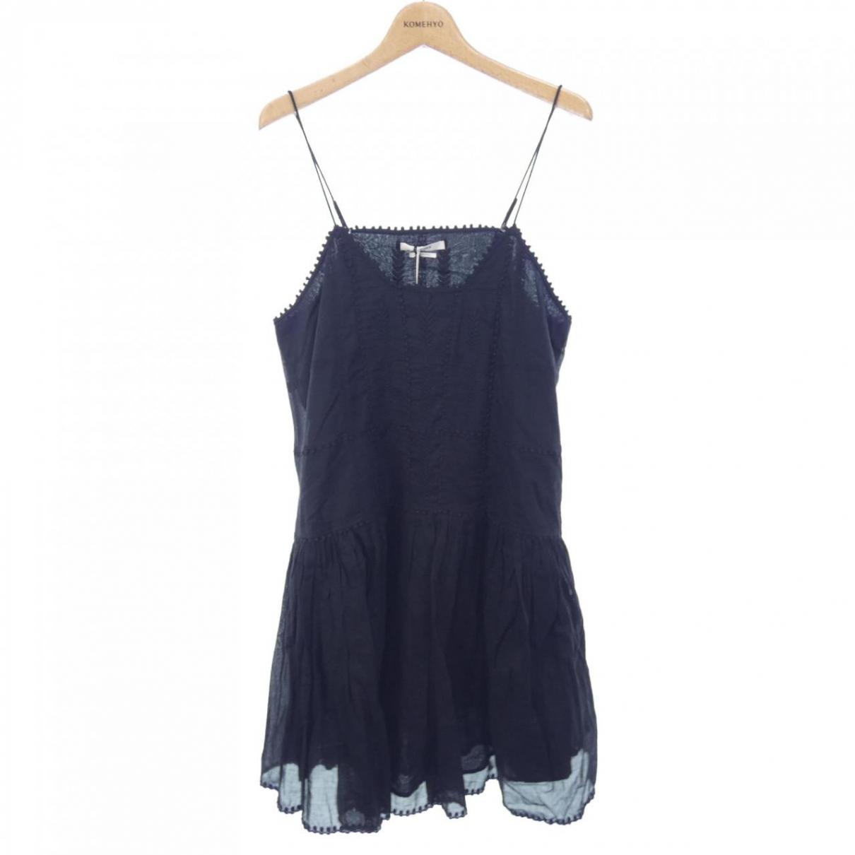 Isabel Marant Etoile \N Black Cotton dress for Women 38 FR