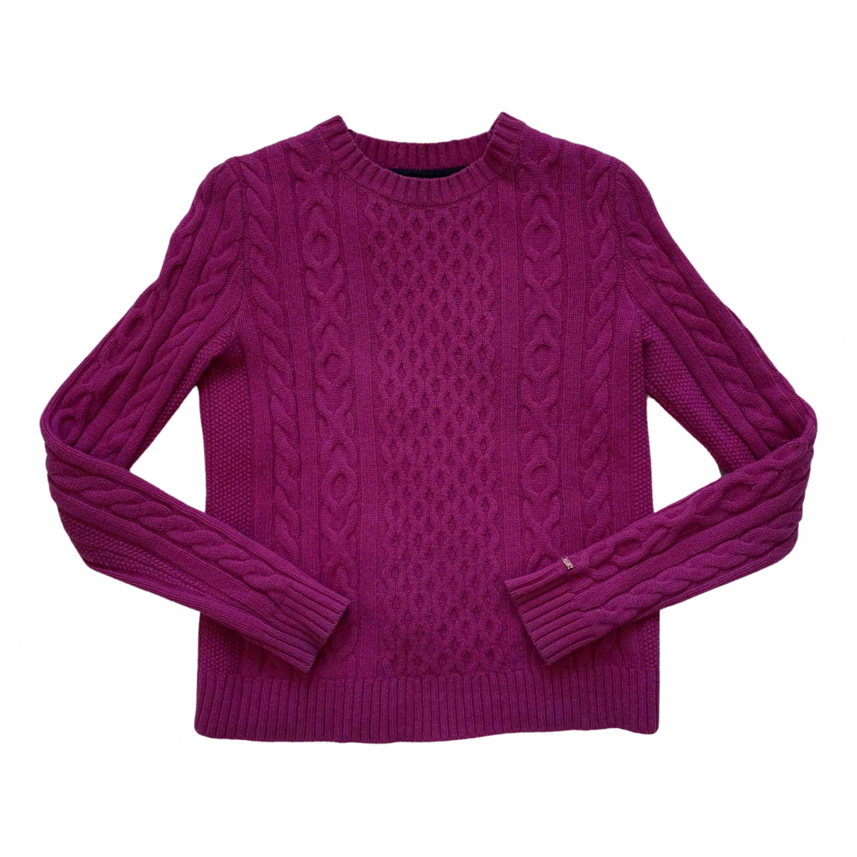 Tommy Hilfiger - Pull   pour femme en cachemire - violet