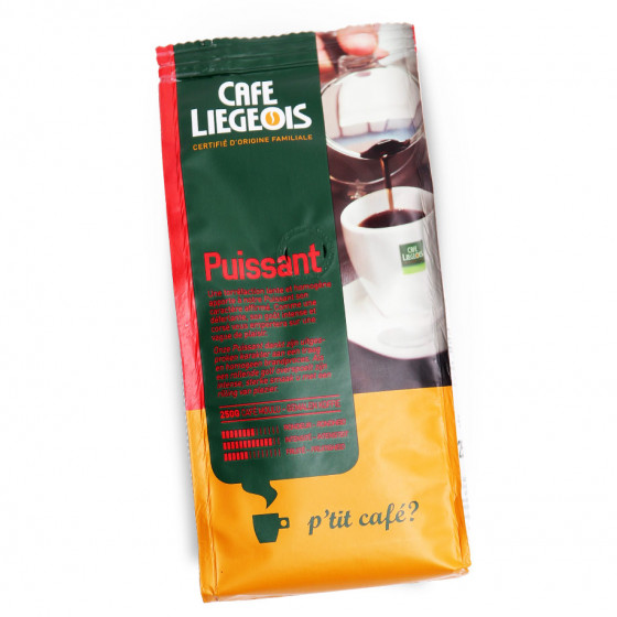 """Gemahlener Kaffee Cafe Liegeois """"Puissant"""", 250 g"""