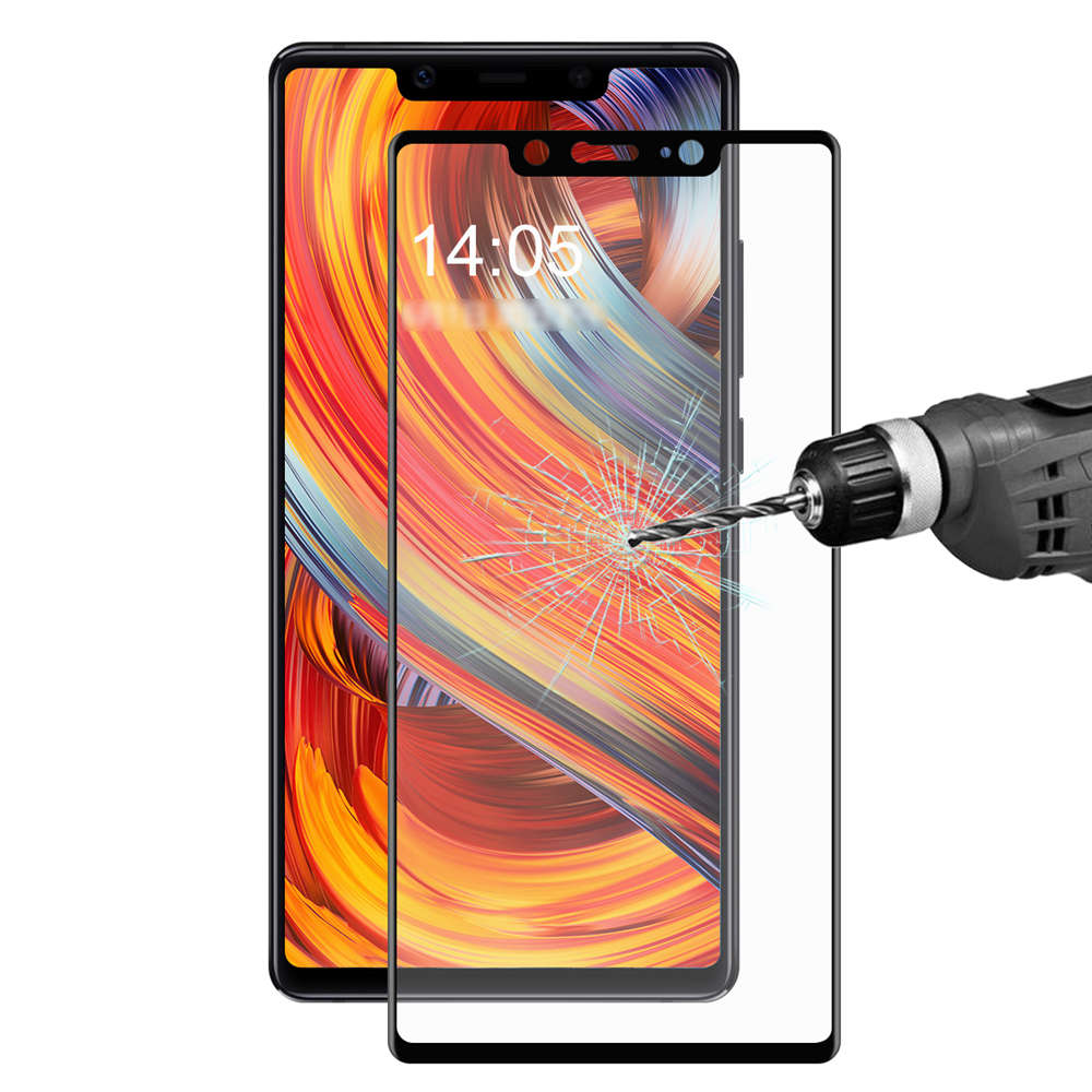 Xiaomi Mi 8 SE Tempered Glass Film Screen Protector 0.2mm 3D Curved Explosion-proof Membrane - Black