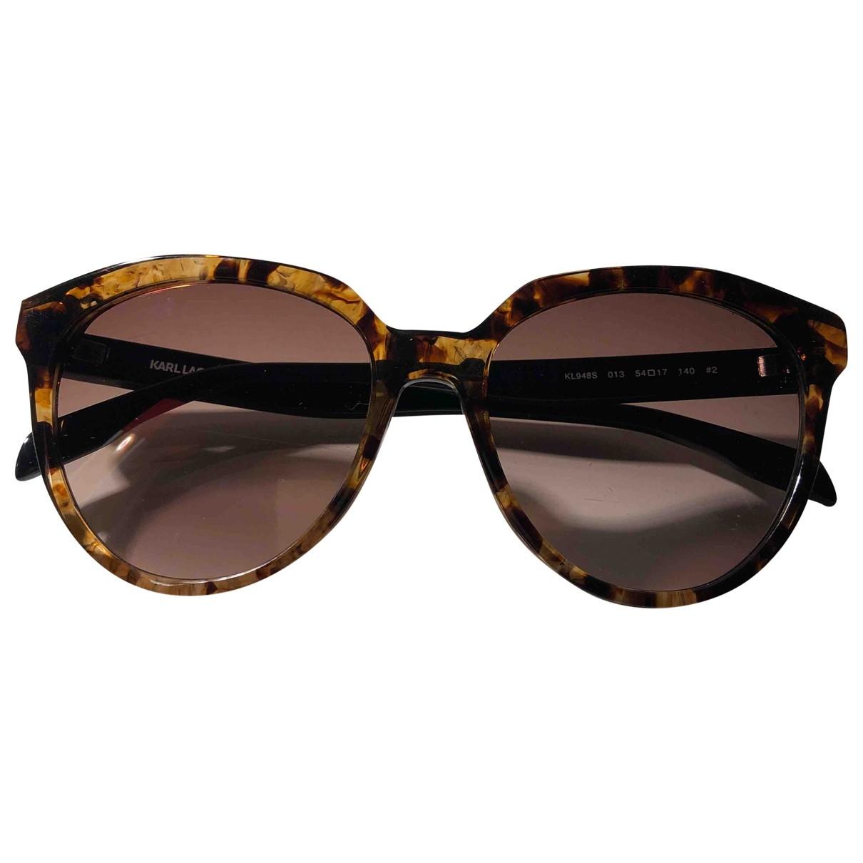 Gafas oversize Karl Lagerfeld